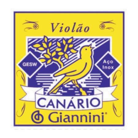Corda de Aço Canário Giannini p/ Violão 1°Corda 4549 - GESW1