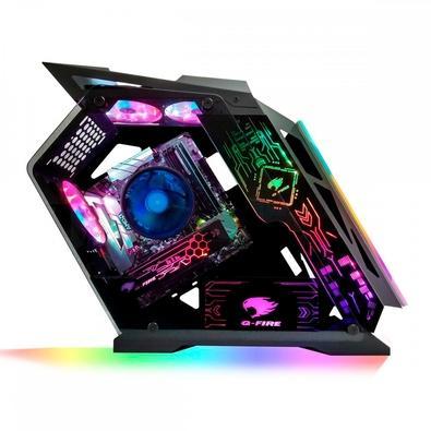 Computador Gamer G-Fire AMD Ryzen 5 3400G, RAM 8GB, SSD 256GB, Fonte 500W, Windows 10 - HTGW-R134