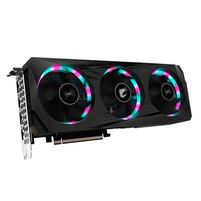 Placa de Vídeo Gigabyte Aorus NVIDIA GeForce RTX 3060 Elite, RGB, 12G, GDDR6, DLSS, Ray Tracing - GV-N3060AORUS E-12GD (rev 2.0)