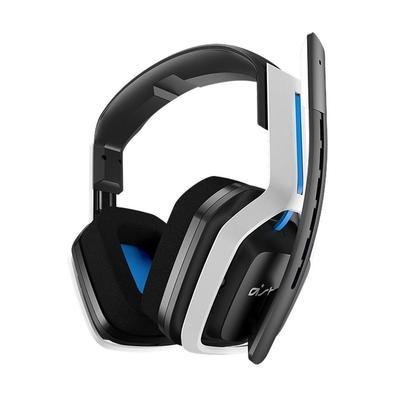 Headset Gamer Astro A20, 2.4GHz, Wireless, Branco/Azul - 939-001877