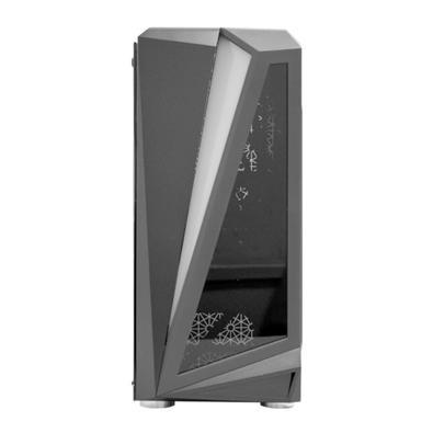 Computador Gamer NTC Powered By Asus Intel Core i3-10100, 16GB RAM, SSD 480GB, RGB, Linux, Preto - Ntc VULCANO II 7173