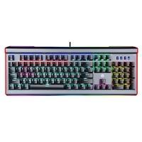 Teclado Mecânico Gamer HP GK520, RGB, USB, Switch Blue, Full Anti-Ghosting, Painel de Metal, Preto - 9AJ59AA