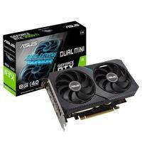 Placa de Vídeo Asus DUAL NVIDIA Geforce RTX 3060 TI 8G Mini V2, RGB, 8GB GDDR6, LHR, DLSS, Ray Tracing - 90YV0FT3-M0NA00