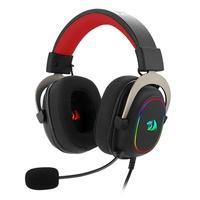 Headset Gamer Redragon Zeus X, Chroma Mk.II, RGB, Surround 7.1, USB, Drivers 53MM, Preto/Vermelho - H510-RGB