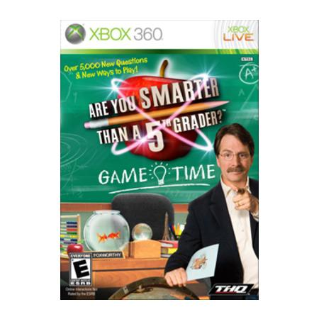 Jogo Are You Smarter Than a 5th Grader? Game Time - Xbox 360 - Thq