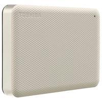 HD Externo Toshiba Canvio Advance, 4TB, USB, Branco - HDTCA40XW3CA