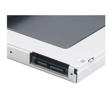 Akasa N.Stor ODD Adaptador para HD 2.5´ SATA HDD e SSD, 12.5mm - AK-OA2SSA-BKV2