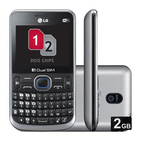 Celular LG C397 1gb Prata - Dual Chip
