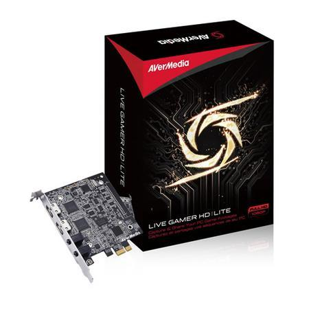 AverMedia Placa de Captura Live Gamer HD Lite Full HD 1080P C985E