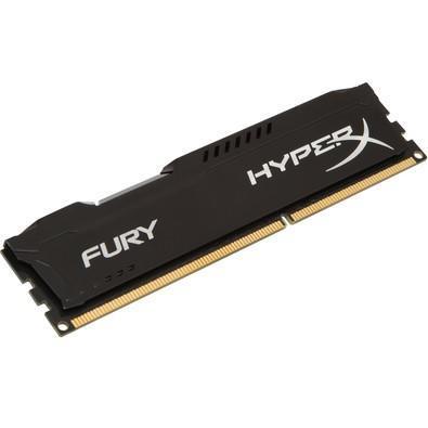 Memória HyperX Fury, 8GB, 1866MHz, DDR3, CL10, Preto - HX318C10FB/8
