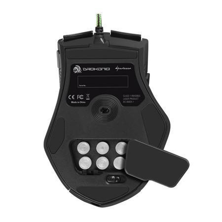 Mouse Sharkoon Gamer Drakonia 11 Botões 5000 DPI Laser