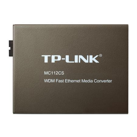 TP-Link Conversor de Mídia WDM 10/100 Mbps MC112CS