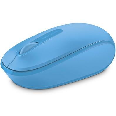 Mouse Sem Fio Microsoft 1850, Azul Turquesa - U7Z00055