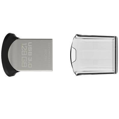 Pen Drive Ultra Fit SanDisk 3.0 128GB até 15X mais rápido SDCZ43-128G-G46