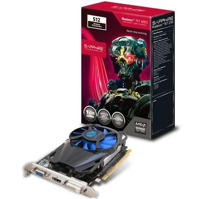 Placa de Vídeo Sapphire R7 250 1gb Ddr5 11215-19-20g
