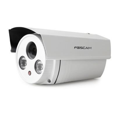 Câmera Foscam Bullet Hd 1.0 Megapixel Ir 20m Fixa, Wi-fi Externa - Ht9873p