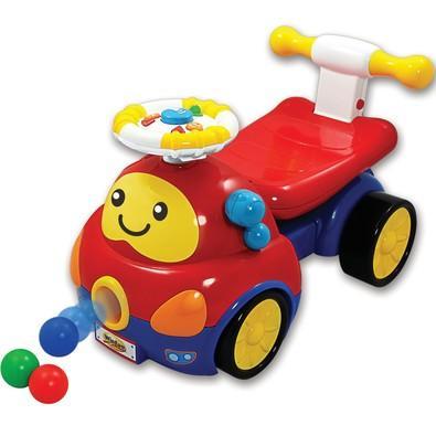 Andador Yes Toys Colorido Carrinho 2 em 1