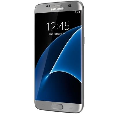 Smartphone Samsung Galaxy S7 Edge G935F, Octa Core 2.3Ghz, Android 6.0, Tela Super Amoled 5.5´, 32GB, 12MP, 4G, Desbloqueado - Prata