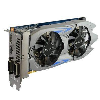Placa de Vídeo VGA Galax GeForce GTX 750 Ti EXOC 2GB GDDR5 128 BITS PCI-E 3.0 - 75IPH8DV9JXZ