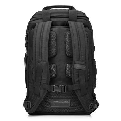 Mochila HP Odyssey para Notebook até 15,6´ - Resistente a água com bolso separado para notebook e costas acolchoadas - Preta - L8J88AA