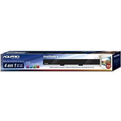 Antena Interna Aquário 4 em 1 Digital Amplificada - DTV-2600