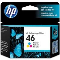 Cartucho de tinta HP 46 Color - CZ638AL