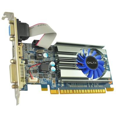 Placa de Vídeo VGA Galax NVIDIA GeForce GT 710 Mainstream 2GB GDDR3 64Bits - 71GPH4HXJ4FN