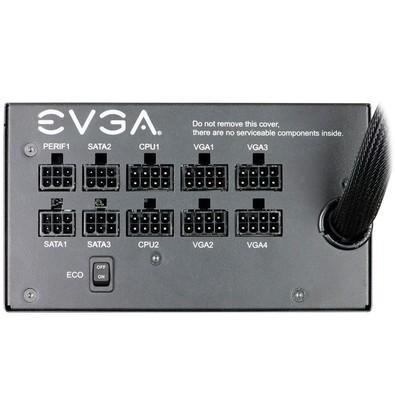 Fonte EVGA 850W 80 Plus Gold Semi Modular Modo ECO 210-GQ-0850-V