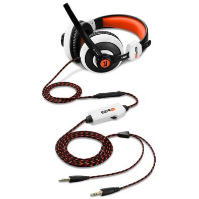 Headset Gamer Sharkoon Rush ER2 White