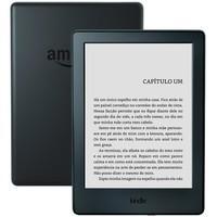Kindle 8ª Geração Tela Sensível ao Toque, Wi-Fi, Preto - AO0513