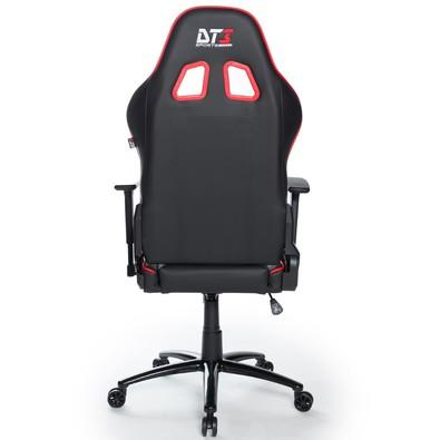 Cadeira Gamer DT3sports Modena, Black Red - 10504-0