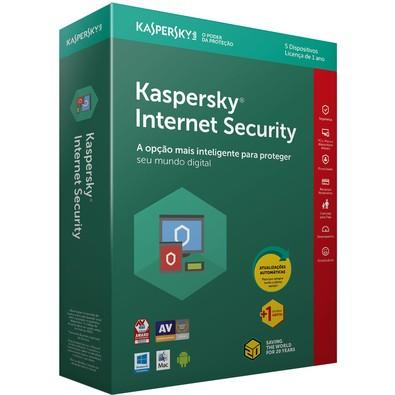 Kaspersky Internet Security 2018 Multidispositivos 5 PCs