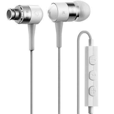 Fone de Ouvido Intra-auricular Com Microfone Branco Edifier I285