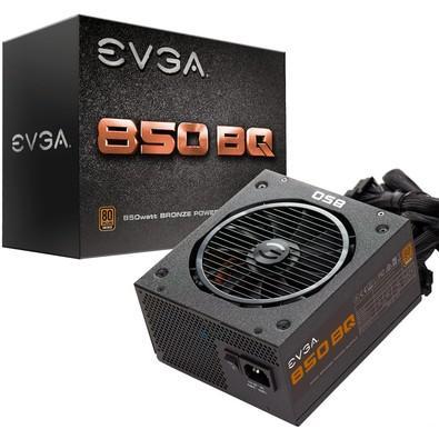 Fonte EVGA 850W 80 Plus Bronze Semi Modular 110-BQ-0850-V