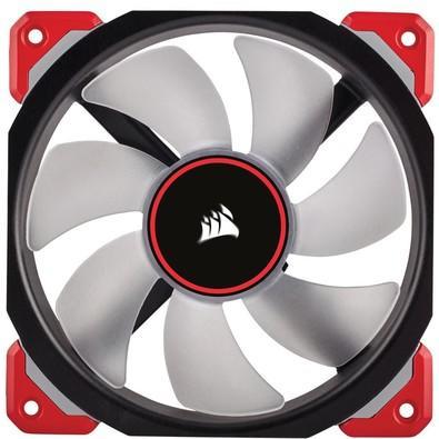 Cooler FAN Corsair ML120 PRO 120MM LED Vermelho CO-9050042