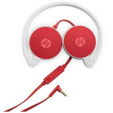 Headphone HP c/ Microfone Dobrável Cardinal Vermelho - H2800
