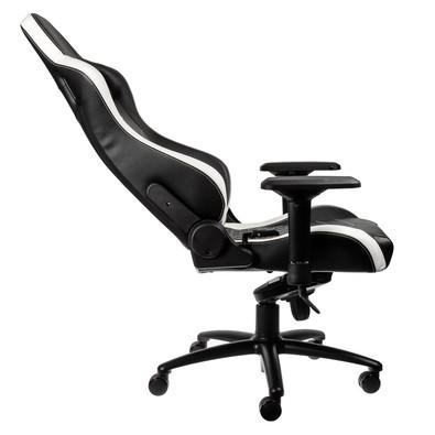 Cadeira Gamer Noblechairs EPIC Leather, Black White Red - NBL-RL-EPC-001