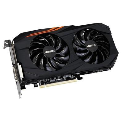 Placa de Vídeo VGA Gigabyte AMD Radeon RX 580 8GB AORUS DDR5 GV-RX580AORUS-8GD