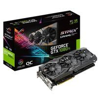 Placa de Vídeo VGA Asus NVIDIA GeForce GTX 1080 TI GDDR5X 11GB ROG-STRIX-GTX1080TI-O11G-GAMING