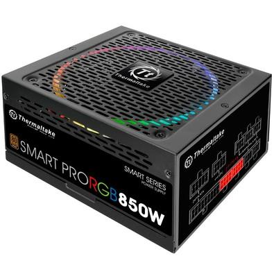 Fonte Thermaltake 850W 80 Plus Bronze Modular RGB - PS-SPR-0850FPCBUS-R