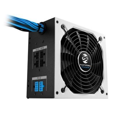 Fonte Sharkoon 650W 80 Plus Bronze Semi Modular SilentStorm Icewind