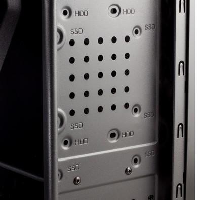 Gabinete NOX KORE ATX, USB 3.0, Preto  NXKORE