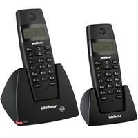 Telefone Intelbras sem Fio DECT 6.0 com Ramal TS40C Preto