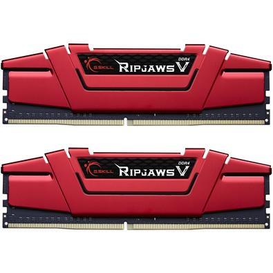 Memória Ram Ripjaws V 16gb Kit(2x8gb) Ddr4 800mhz F4-2800c15d-16gvr G.skill