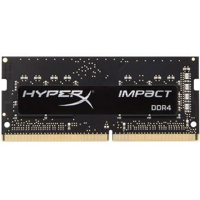 Memória Kingston HyperX Impact 8GB 2133Mhz DDR4 CL13 p/ Notebook Black - HX421S13IB2/8
