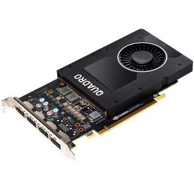 Placa de Vídeo PNY NVIDIA Quadro P2000, 5GB, GDDR5 - VCQP2000