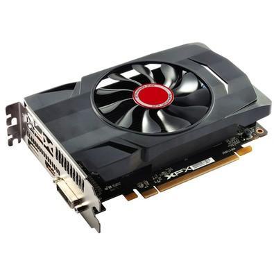 Placa de Vídeo XFX AMD Radeon RX 550 4GB Core, GDDR5 - RX-550P4SFG5