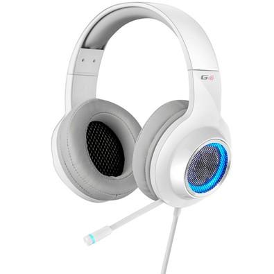 Headphone Gamer 7.1 EDIFIER G4 Over-Ear Branco