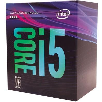 Processador Intel Core i5-8400 Coffee Lake, Cache 9MB, 2.8GHz (4GHz Max Turbo), LGA 1151 - BX80684I58400