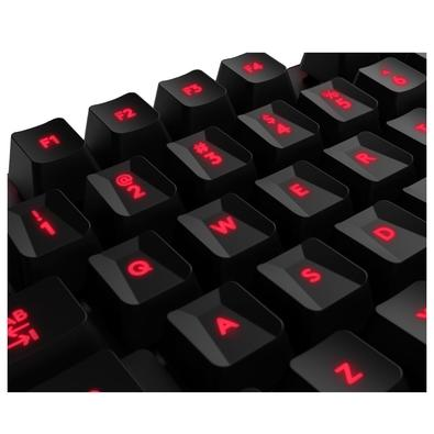 Teclado Mecânico Gamer Logitech G413 Carbon, LED Vermelho, Switch Romer-G Tactile, US - 920-008300